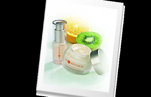 SKY-Nova linija sa vitaminom C koja djeluje protiv slobodnih radikala I na regeneraciju kože